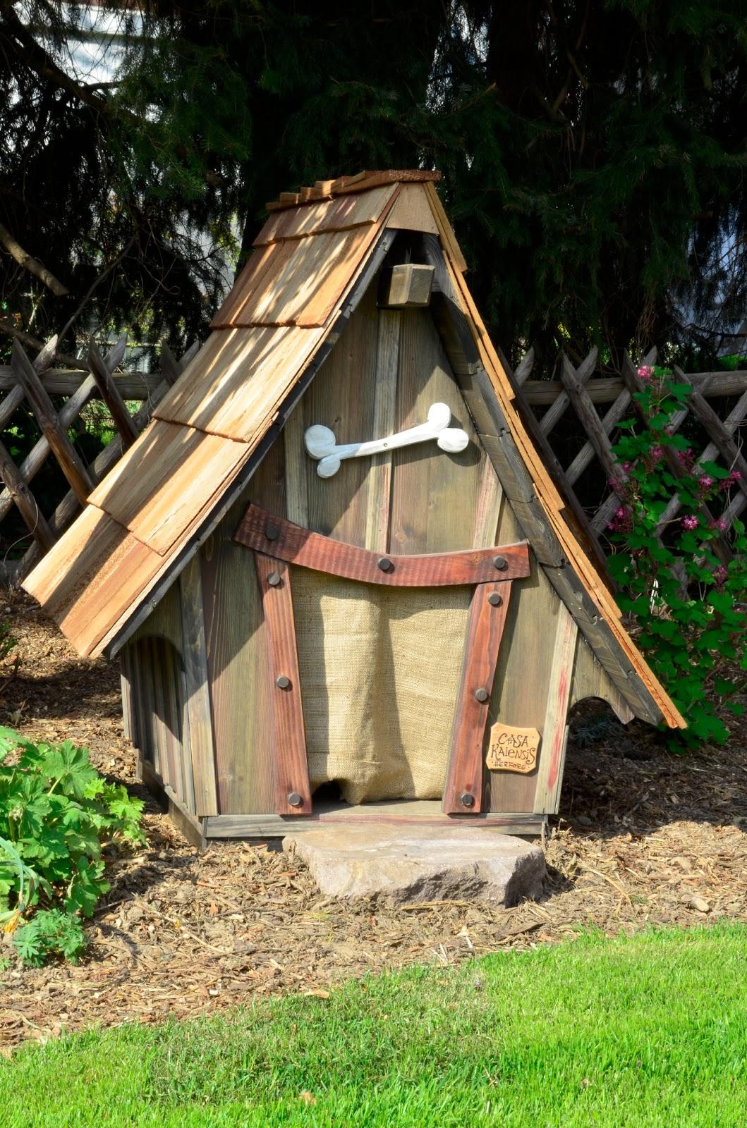 meiselbach mobilheime: hundehütte rhubart - in märchenhafter ausführung