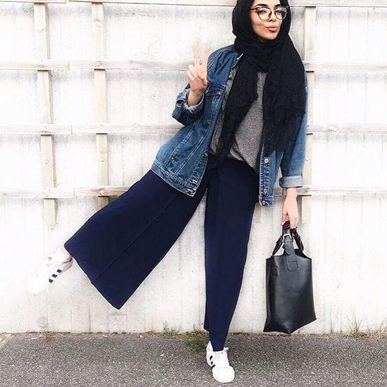 Fashion Hijab Casual  dengan Gaya Modern