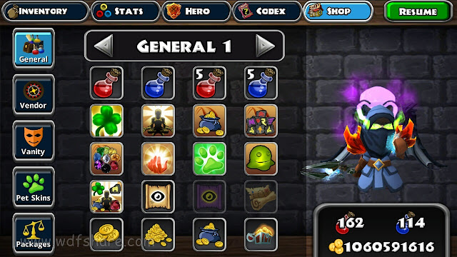 Dungeon Quest 2.0.0.7 Mod Gold