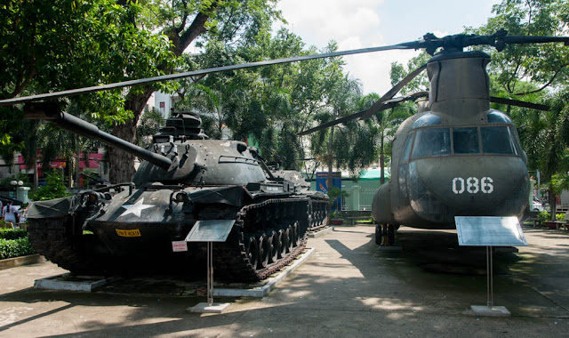 Tanque americano (El Museo de la Guerra del Vietnam)