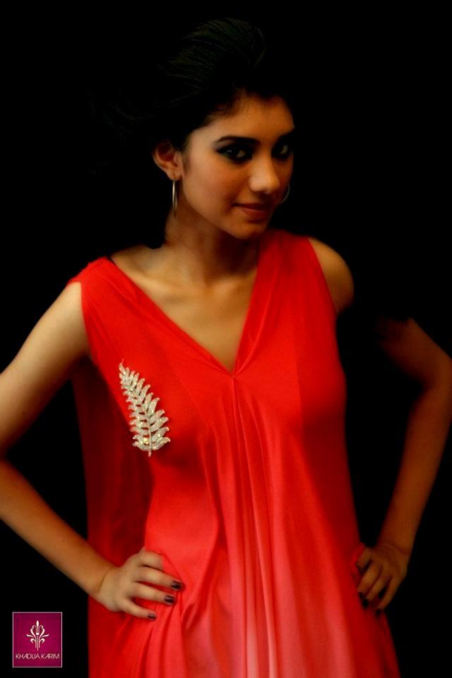 Khadija Karim New Formal Collection 2012 For Girls Party