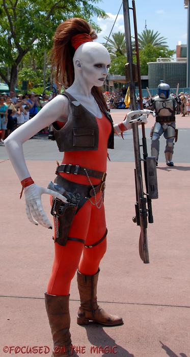 Star Wars Weekend Bounty Hunter Aurra Sing