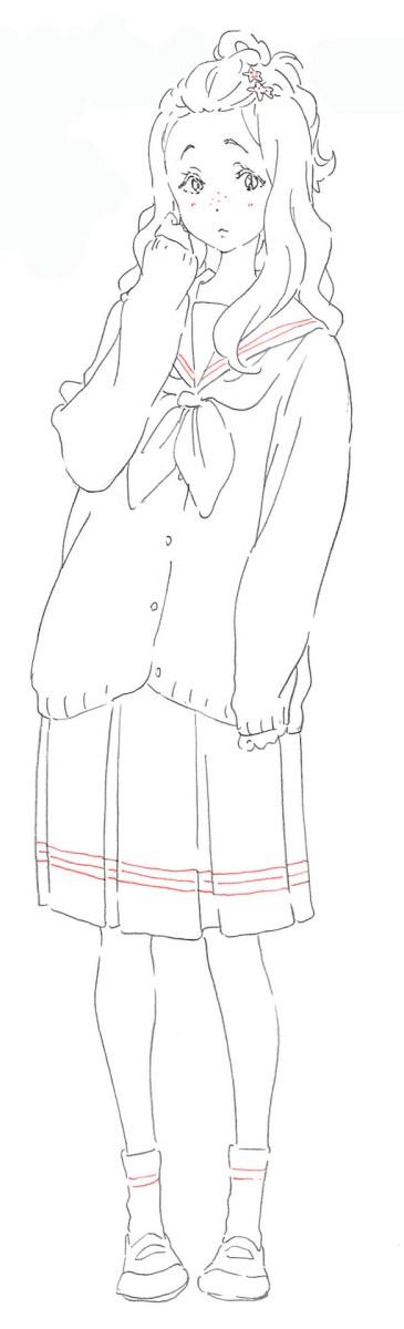 Ririka Kenzaki que tendrá la voz de Shiori Sugiura