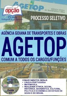 Apostila Concurso AGETOP 2016