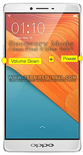 Hard Reset Oppo R7 Plus Recovery Mode