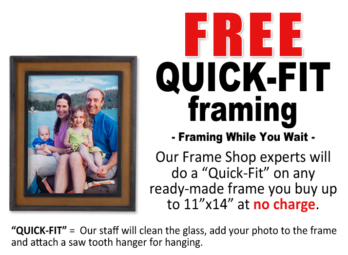 Ben Franklin Crafts and Frame Shop: Frame Your Photo Gift Today!