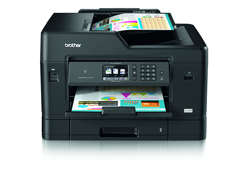 The InkBenefit A3 series of printer will be able to use cloud printing with its WebConnect feature