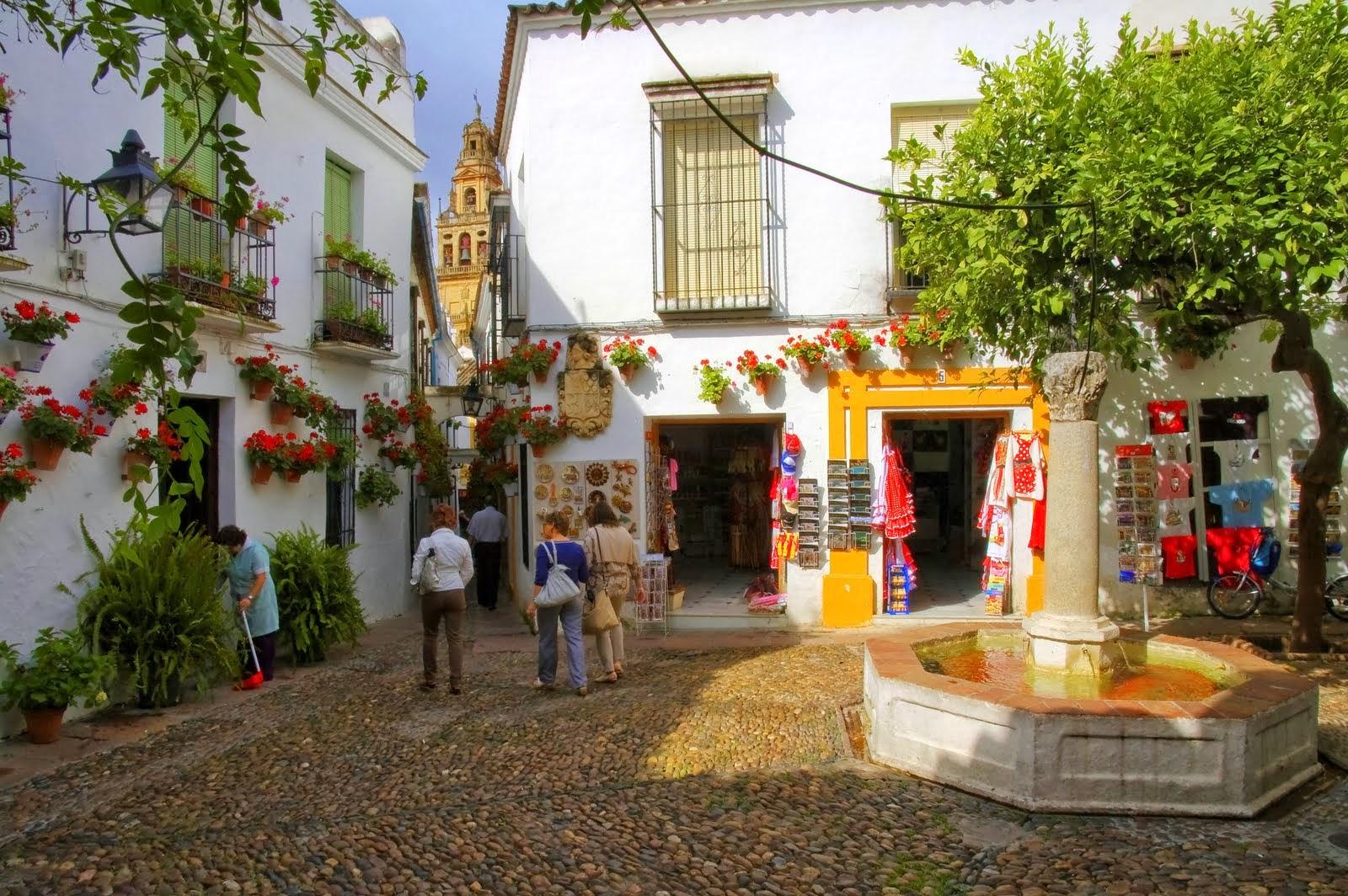 La Calleja de las Flores en Córdoba