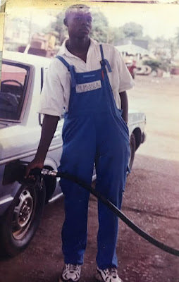 From Pump attendant in 1999 to Finance Manager in 2017 - Nigerian man shares his testimony (photos)