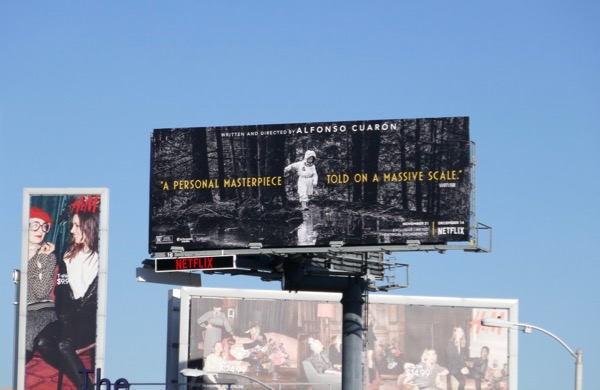 Roma film billboard