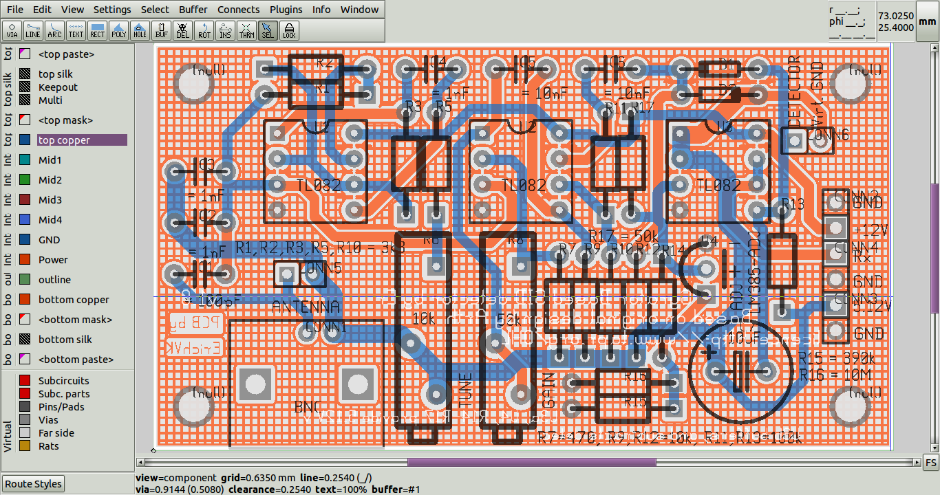 Blog De Vk5hse Pcb Rnd Support For Protel Autotrax Easytrax Layout Design New Style 20162017 After Saving As And Then Loading It Back Into The Crosshatching Used In Place Of Complex Polygonal Copper Pour Can Be Seen