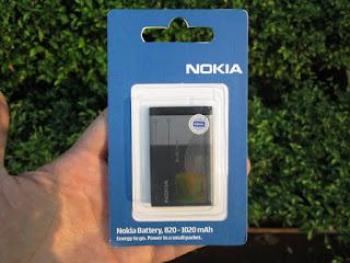 baterai Nokia BL-4C original packing