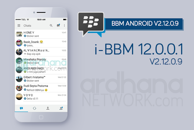 i-BBM V12.0.01 - BBM Android V2.12.0.9