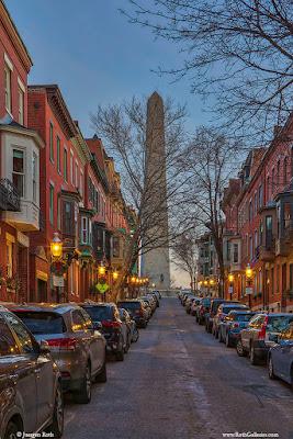 Monument Avenue Boston Charlestown Massachusetts