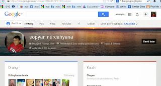 profile google plus berpagerank