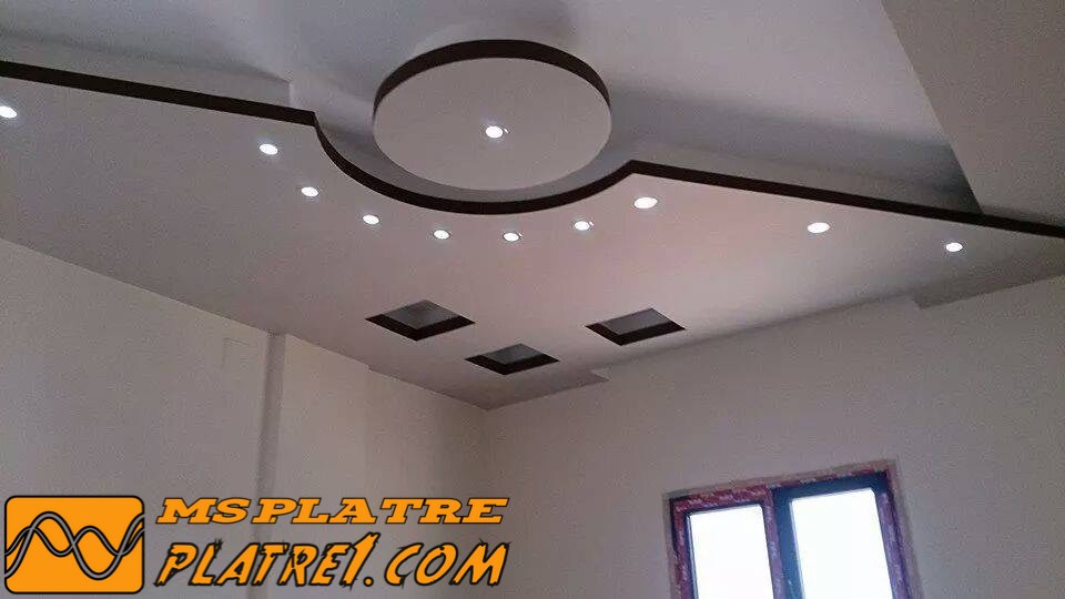 Decor platre plafond maroc gascity for for Decoration platre de salon