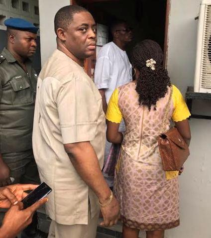 Image result for femi fani kayode arrested by efcc