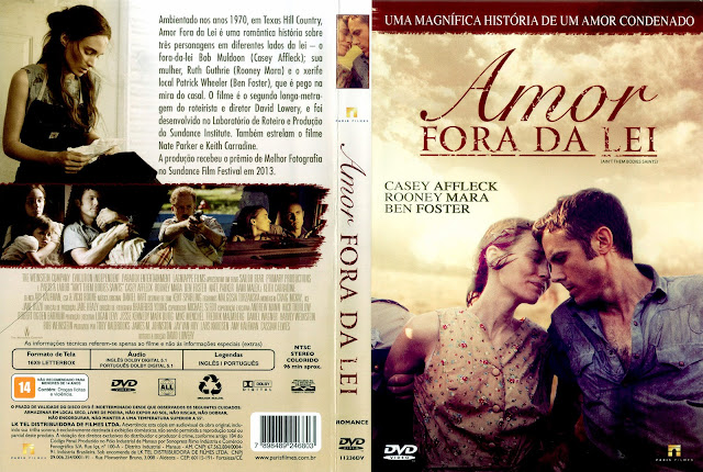 Capa DVD Amor Fora da Lei
