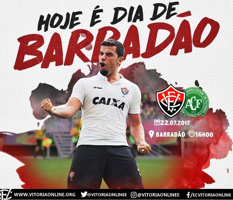 Vitória x Chapecoense - 16ª rodada do Brasileirão ao vivo HD 1