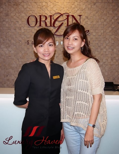 my experience at origin luxe chinatown scalp treatment