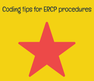 Important CPT codes to remember while coding ERCP procedure
