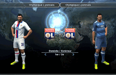 PES 2013 Olympique Lyonnais 2017 Kits by Auvergne81