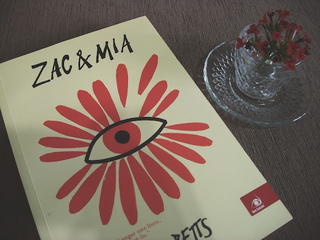 Capa do livro Zac & Mia de A. J. Betts