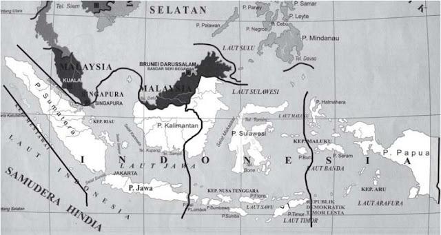 Pembagian Wilayah dan Daerah Waktu di Indonesia