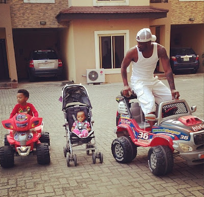 peter okoye children