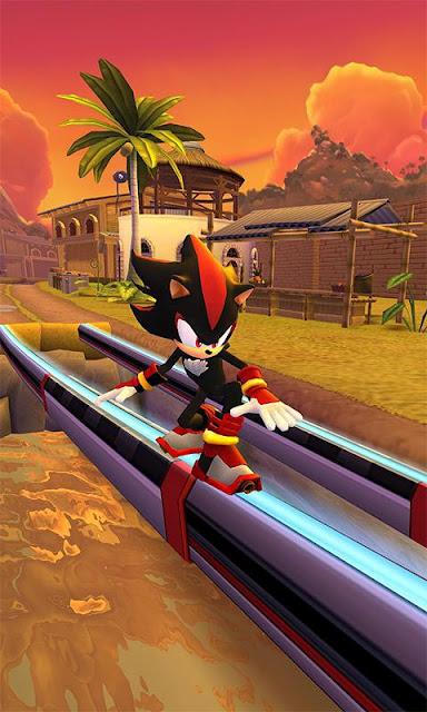 Game Arcade Android Offline Sonic Dash 2 MOD APK