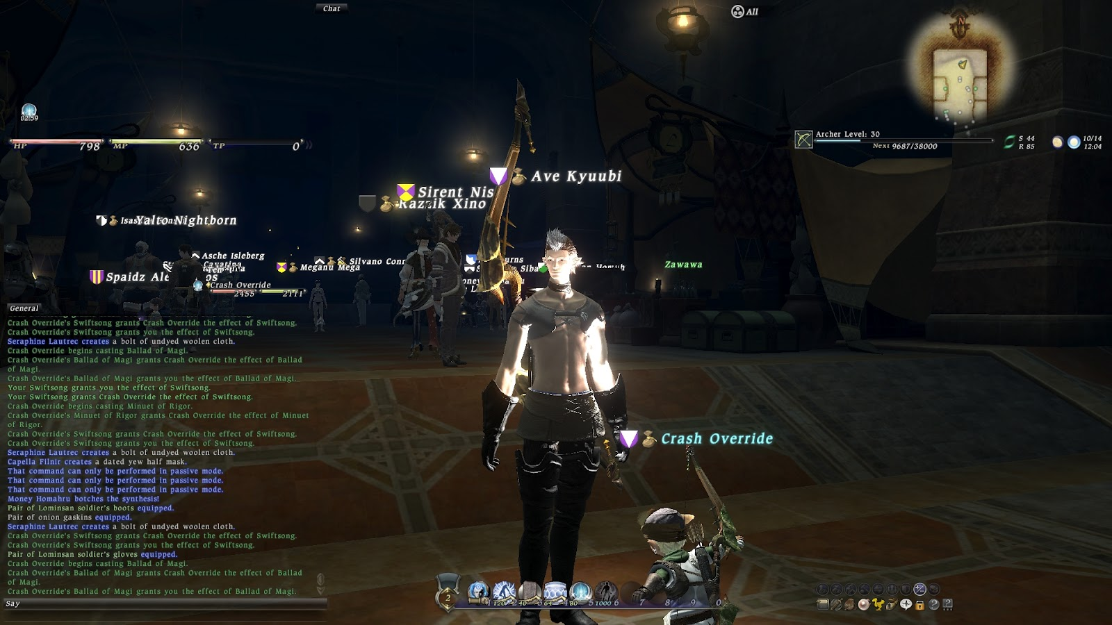 A FINAL FANTASY XIV BLOG: 2012
