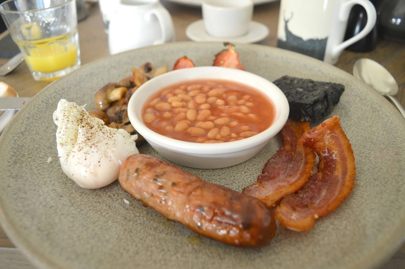 Lord Crewe Arms, Blanchland - Northumbrian Breakfast