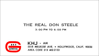 The Real Don Steele Business Card