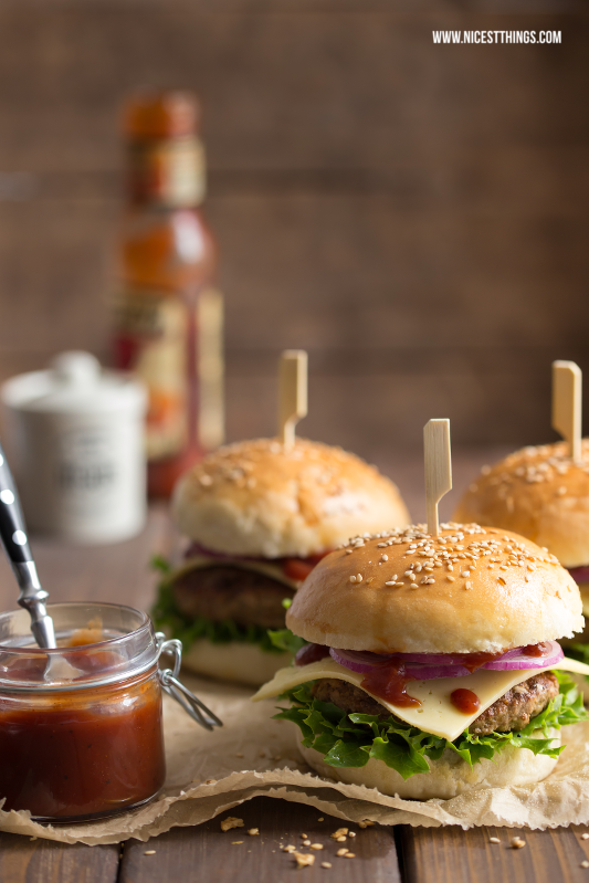 Burger Buns mit Thermomix Rezept, die besten Burgerbrötchen und Burger Patties