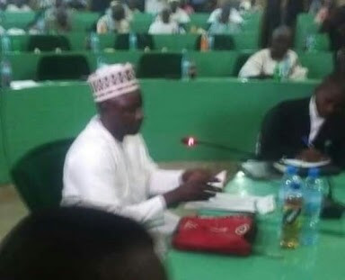 Ganduje Bribe Video: Jafar Jafar Answering Questions In Kano Assembly Today (Pics)