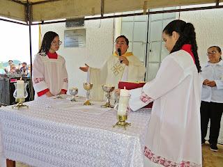 Imagens da Santa Missa de São José em Almino Afonso 19/03/2019