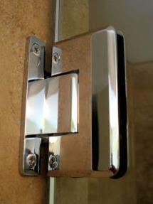 Frameless Shower Hinge