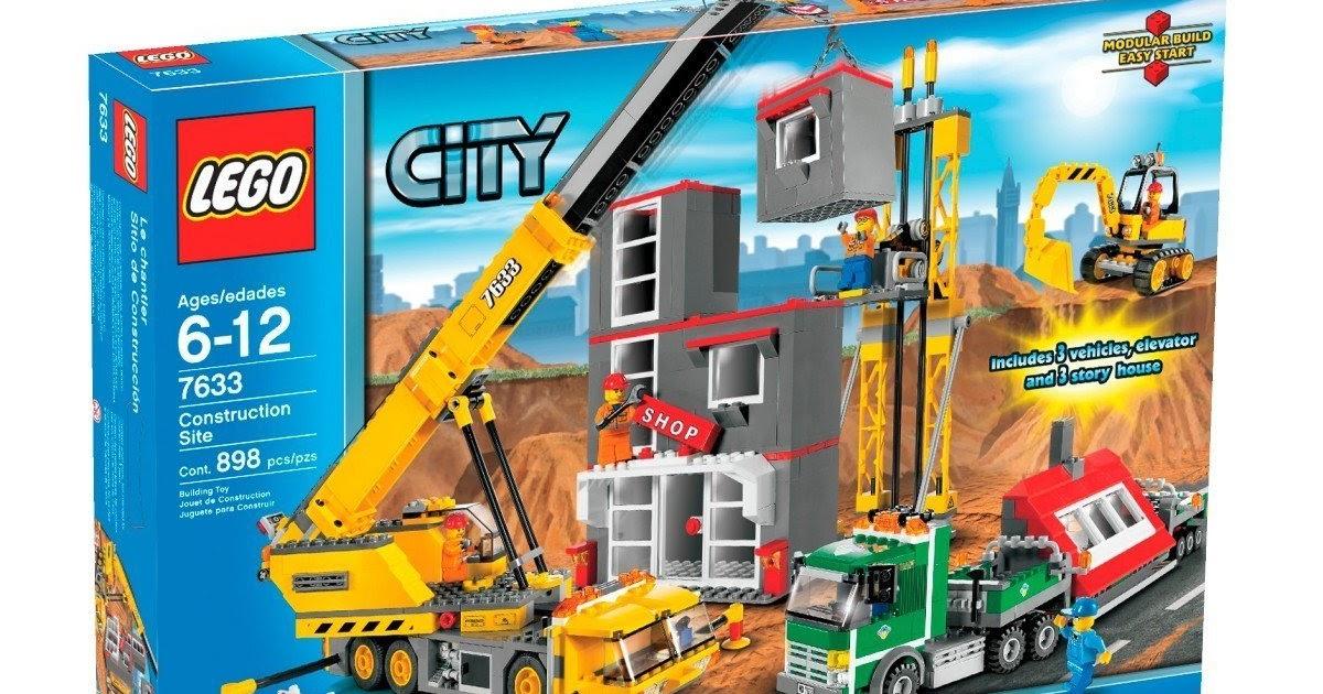 Lego City Construction Site Lego City Construction Site