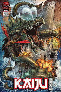 Kaiju Epic Comic Book by Big Dog Ink