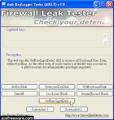 Anti-Keylogger Tester