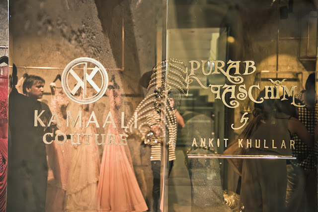 Jewelry and Fashion Heaven: Purab Paschim by Ankit Khullar & Kamaali Couture Celebrate 1 year Anniversary with New A/W'17 Collection Launch!