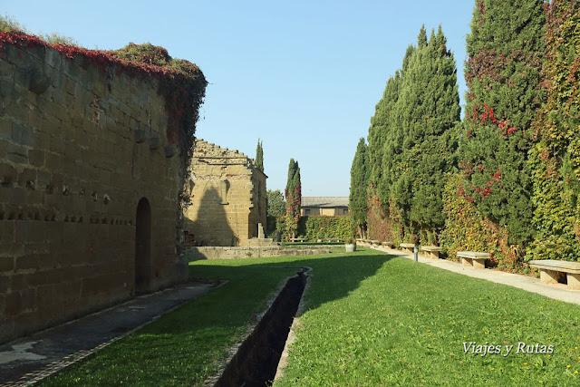 Antigua canalización del Monasterio de la Oliva, Navarra