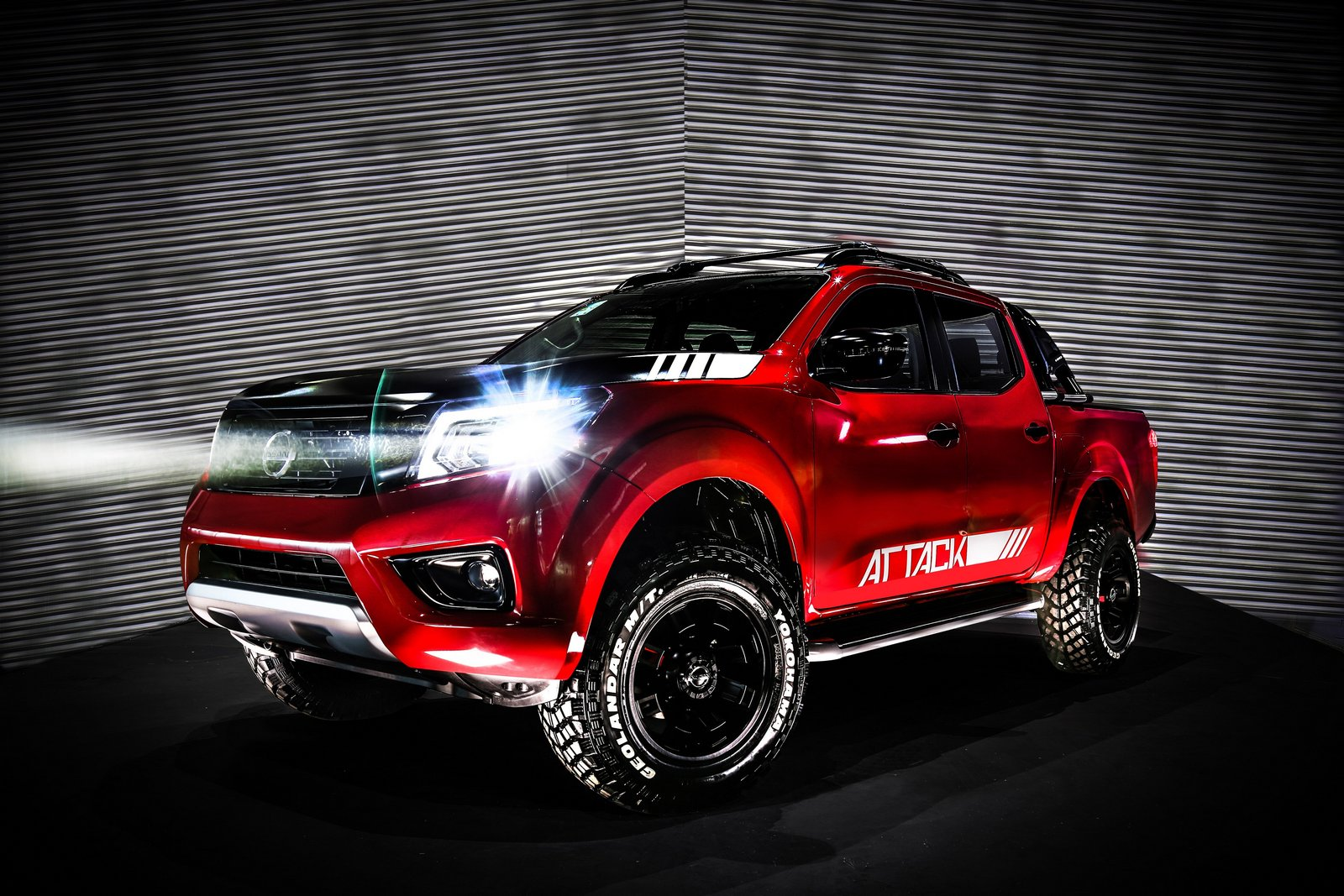 Nissan Frontier Attack Concept Unveiled In Buenos Aires