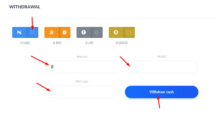 Регистрация в Bitify 6