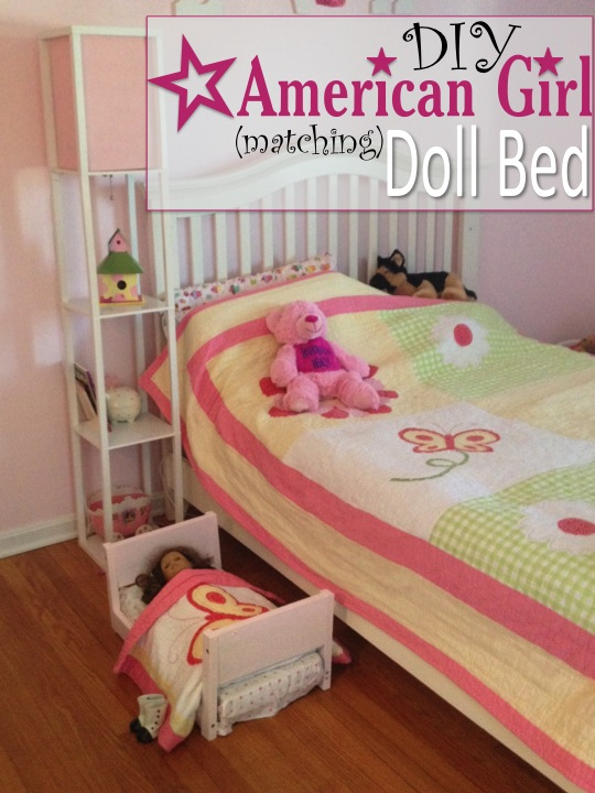Two It Yourself Diy Doll Bed For American Girl From Scrapwood