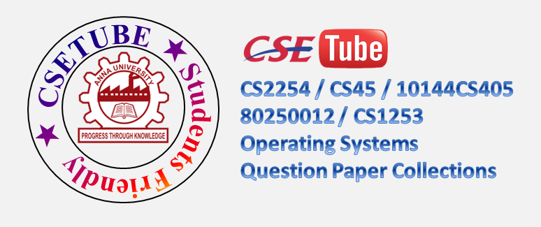 cs2254 operating system book