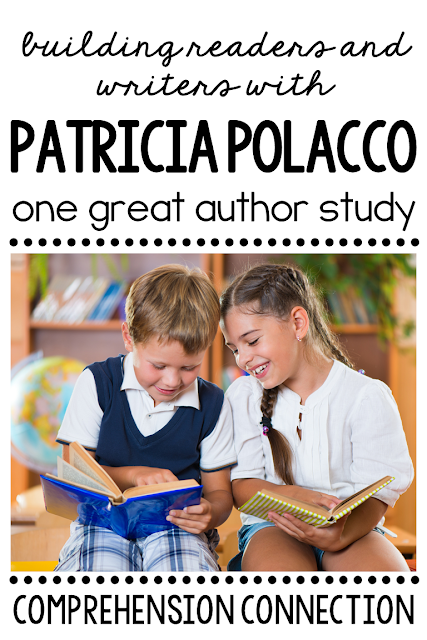 Patricia Polacco is one author who provides us with quality literature with so many life lessons. Check out this post for author study ideas.