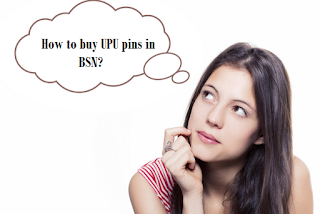How to buy UPU pins in BSN?