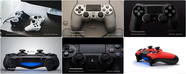 DualShock Start Screen PES 2017