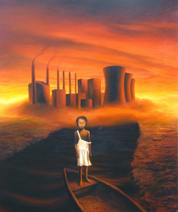 Abel - Ileana Cerato e seu surrealismo nostálgico ~ Pintor argentino
